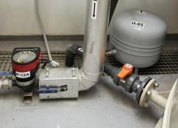 Detail potrubního systému.