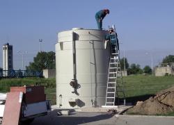 Akumulační dvouplášťová nádrž